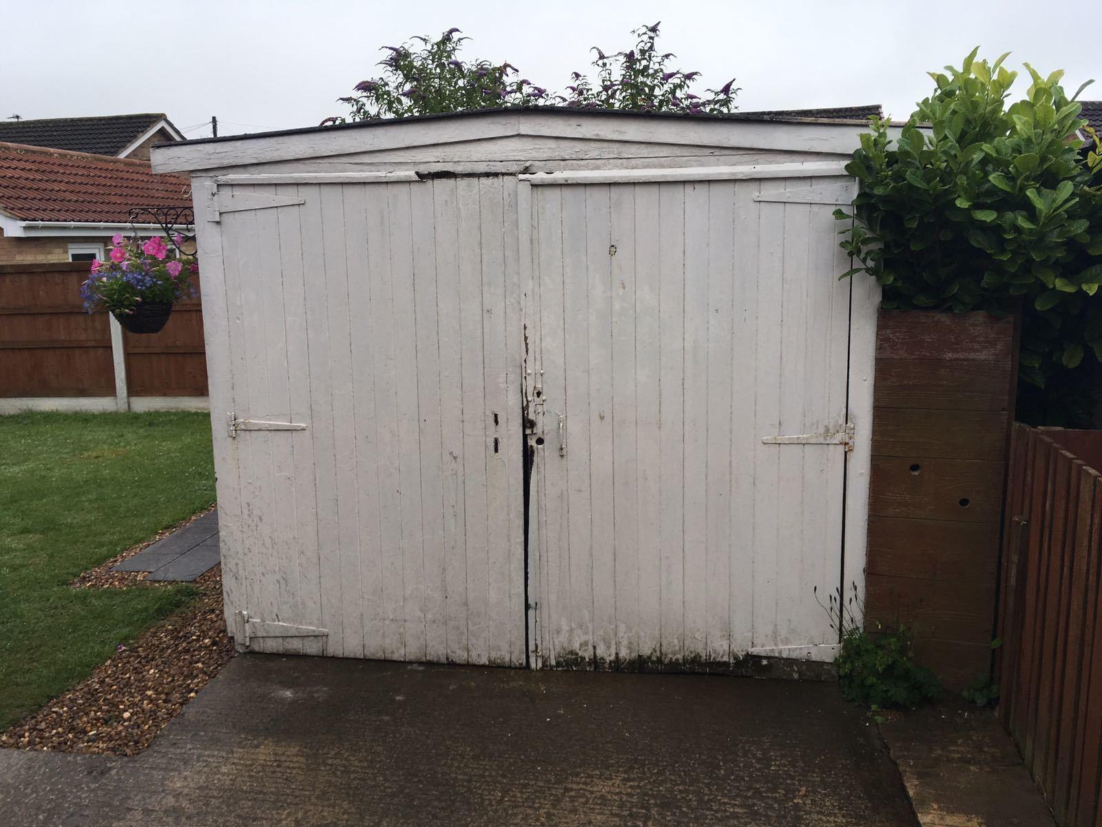 Steel Side Hinged Garage Door, Leeds