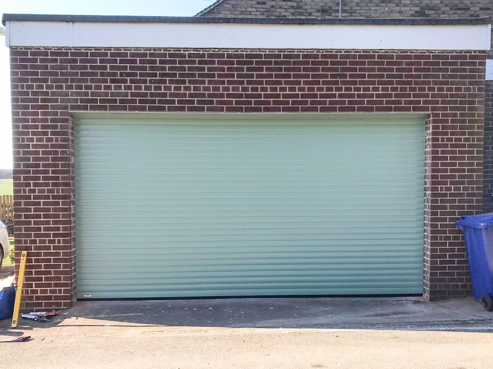Chartwell Green Insulated Roller Garage Door, Bolton