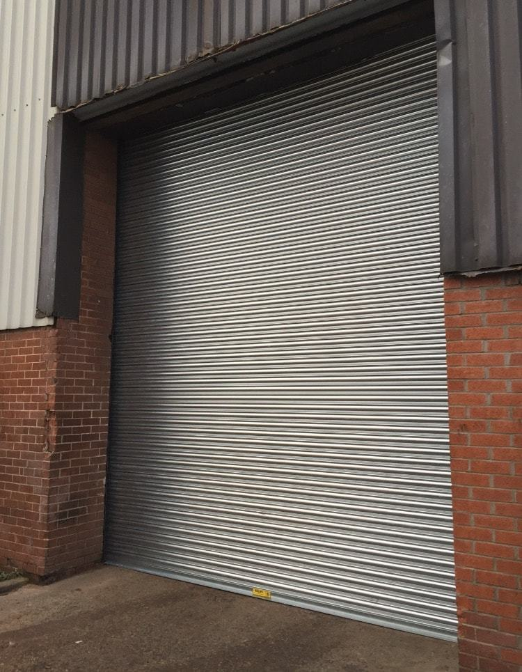 CE Marked Commercial Shutter in Hull
