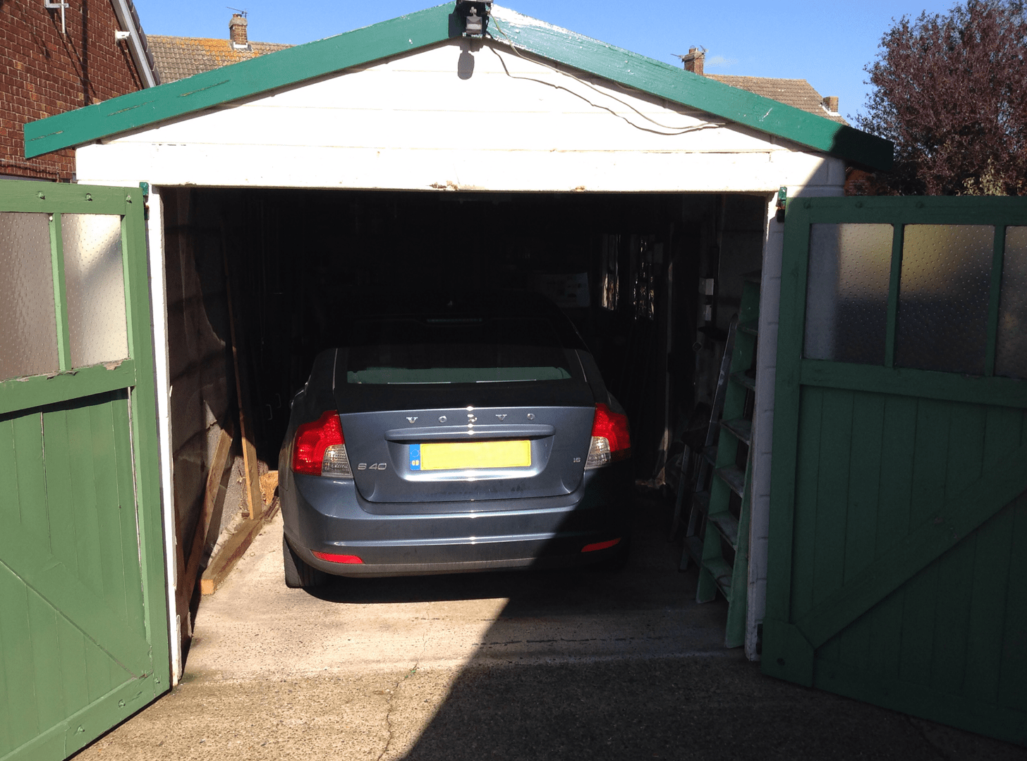 Single Skin Roller Garage Door, Grimsby