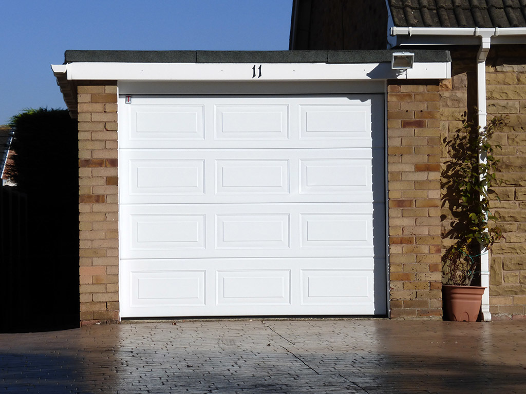 Carteck Georgian Sectional Garage Door