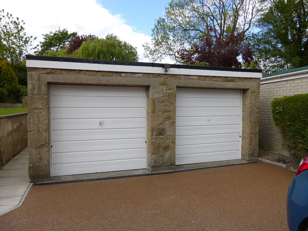 Insulated Sectional Garage Door, Harrogate