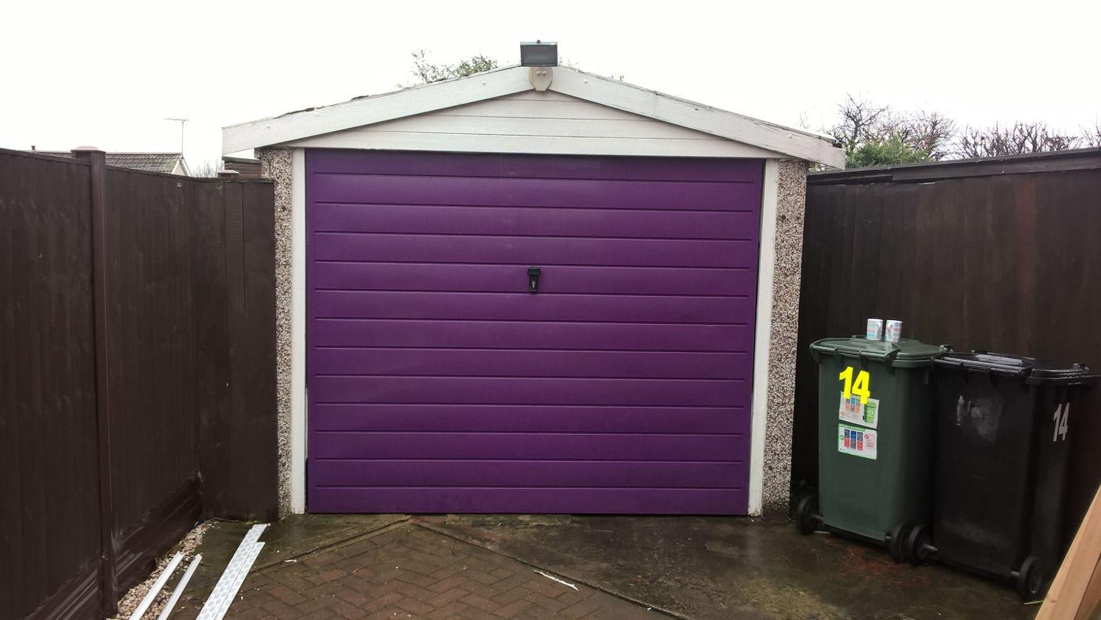 Insulated Compact Roller Garage Door, Leeds