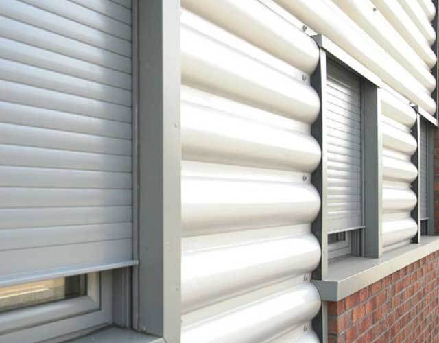 Oxley Commercial Shutters Aluminium Grey