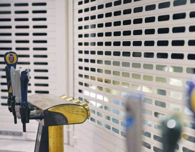 Oxley Commercial Shutters Aluminium Vision