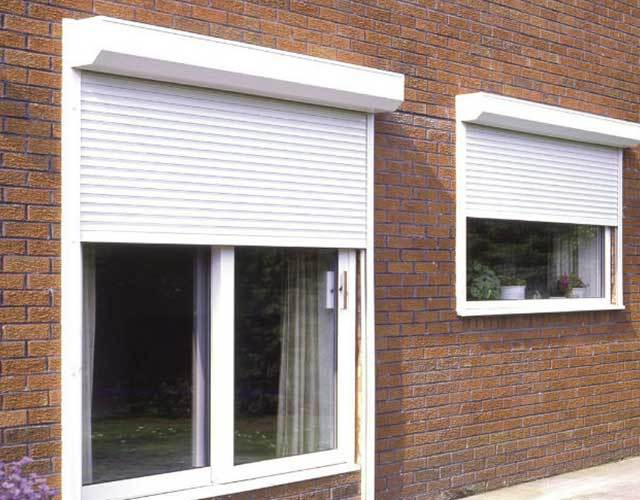 Oxley Commercial Shutters Aluminium White