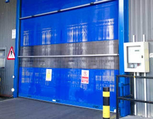 Oxley Commercial Shutters High Speed Door Bollard