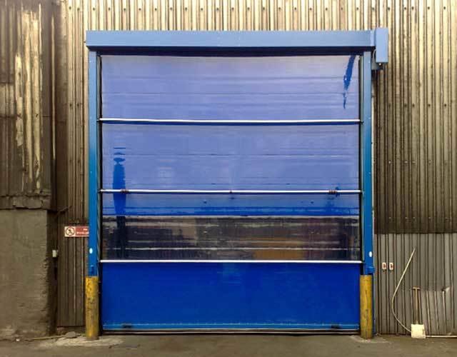 Oxley Commercial Shutters High Speed Door Exterior
