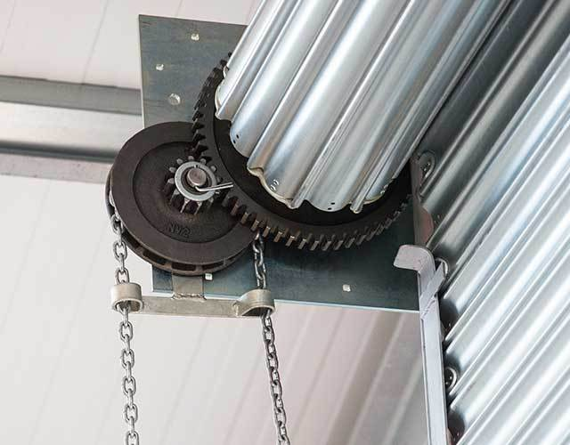 Oxley Commercial Shutters Industrial Door Hand Operated