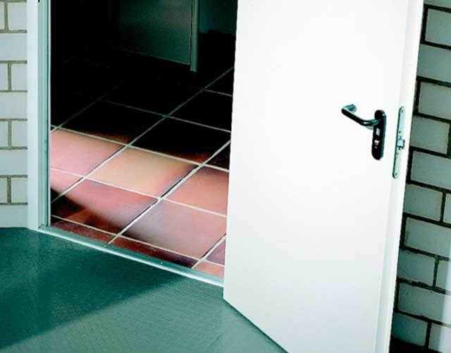 Oxley Commercial Shutters Steel Doorsets threshold