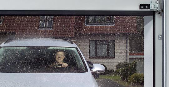 Oxley Garage Door Automation Rain