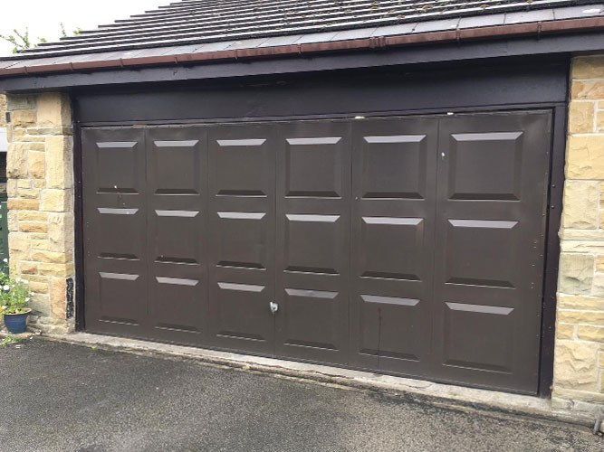 Georgian Sectional Garage Door, Bolton