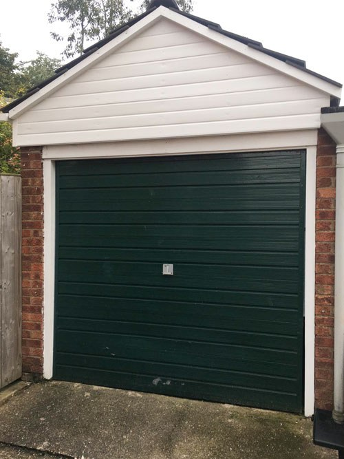 L-Rib Insulated Ribbed Sectional Garage Doors, Barnsley
