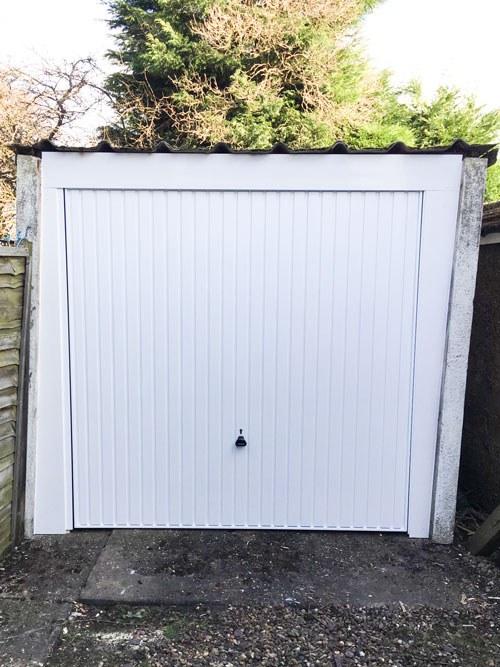 Steel Up & Over Garage Door, Sheffield