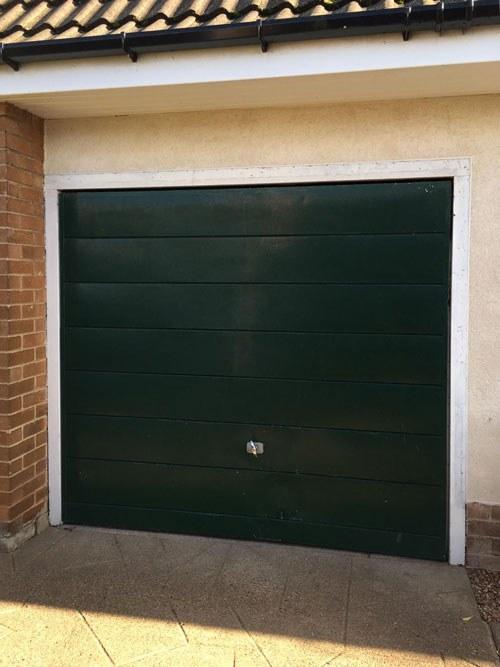 Steel Up and Over Garage Door, Doncaster