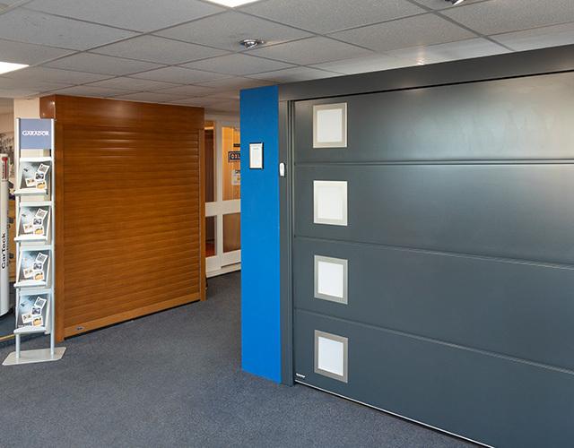 Oxley Garage Doors About Header Offices and Showroom Doors