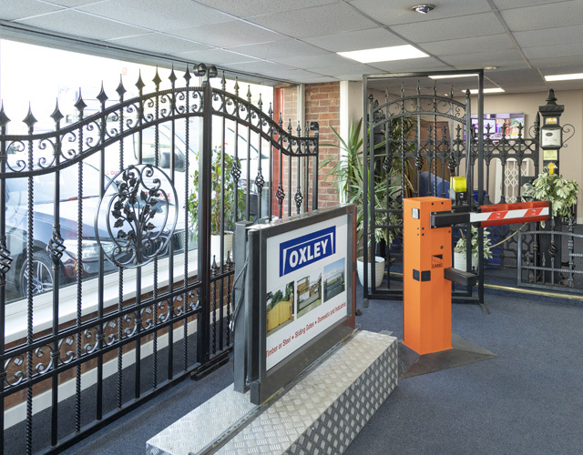 Oxley Garage Doors About Header Offices and Showroom Gates