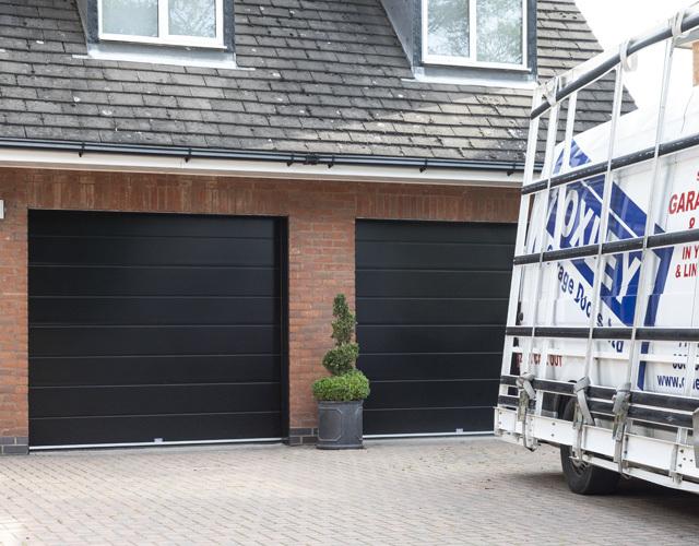 Oxley Garage Doors Company Completed Job