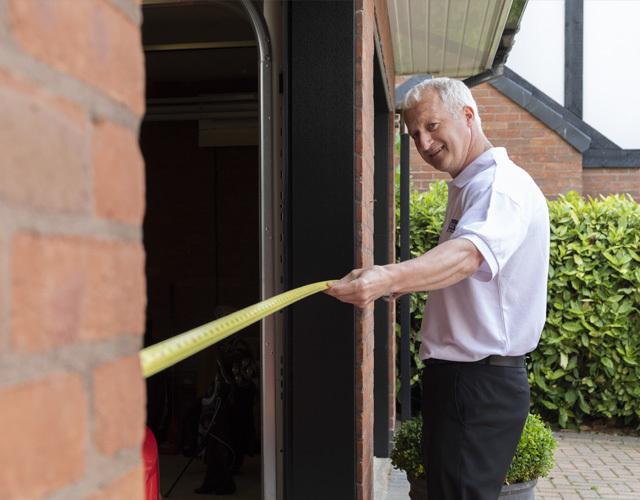 Oxley Garage Doors Company Surveying Measuring