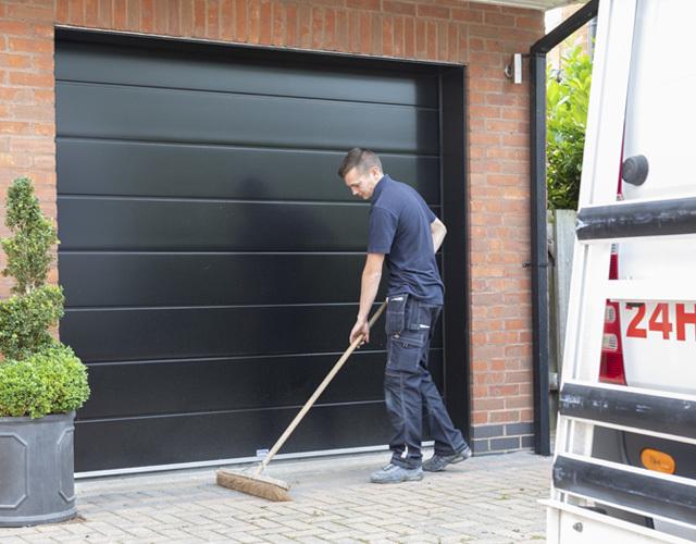Oxley Garage Doors Company Tidying Up