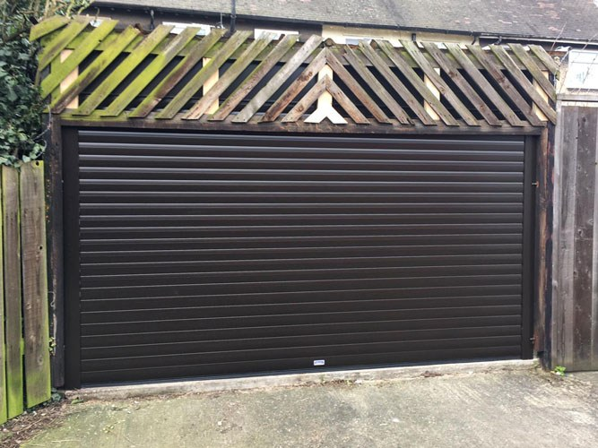 Insulated Roller Garage Door, Scunthorpe