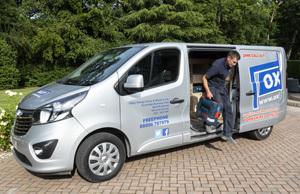 Oxley Garage Doors Service Van