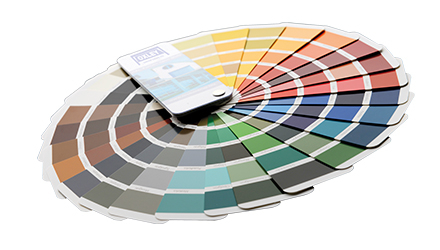 Oxley Finishes Colour Wheel Insulated Side Hinged
