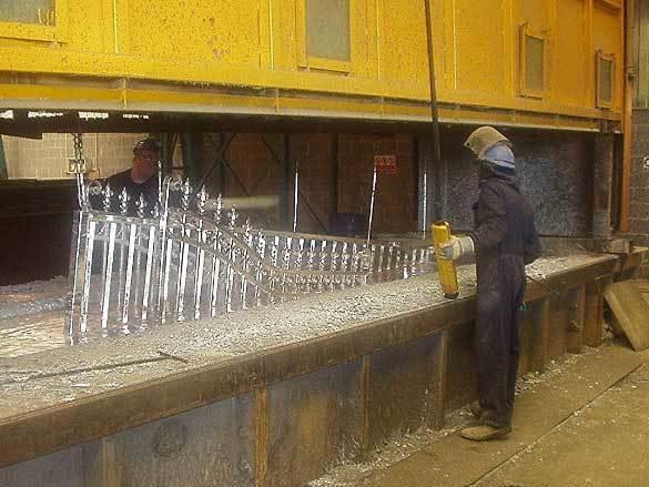 Oxley Gates Metal Process Hot Dip