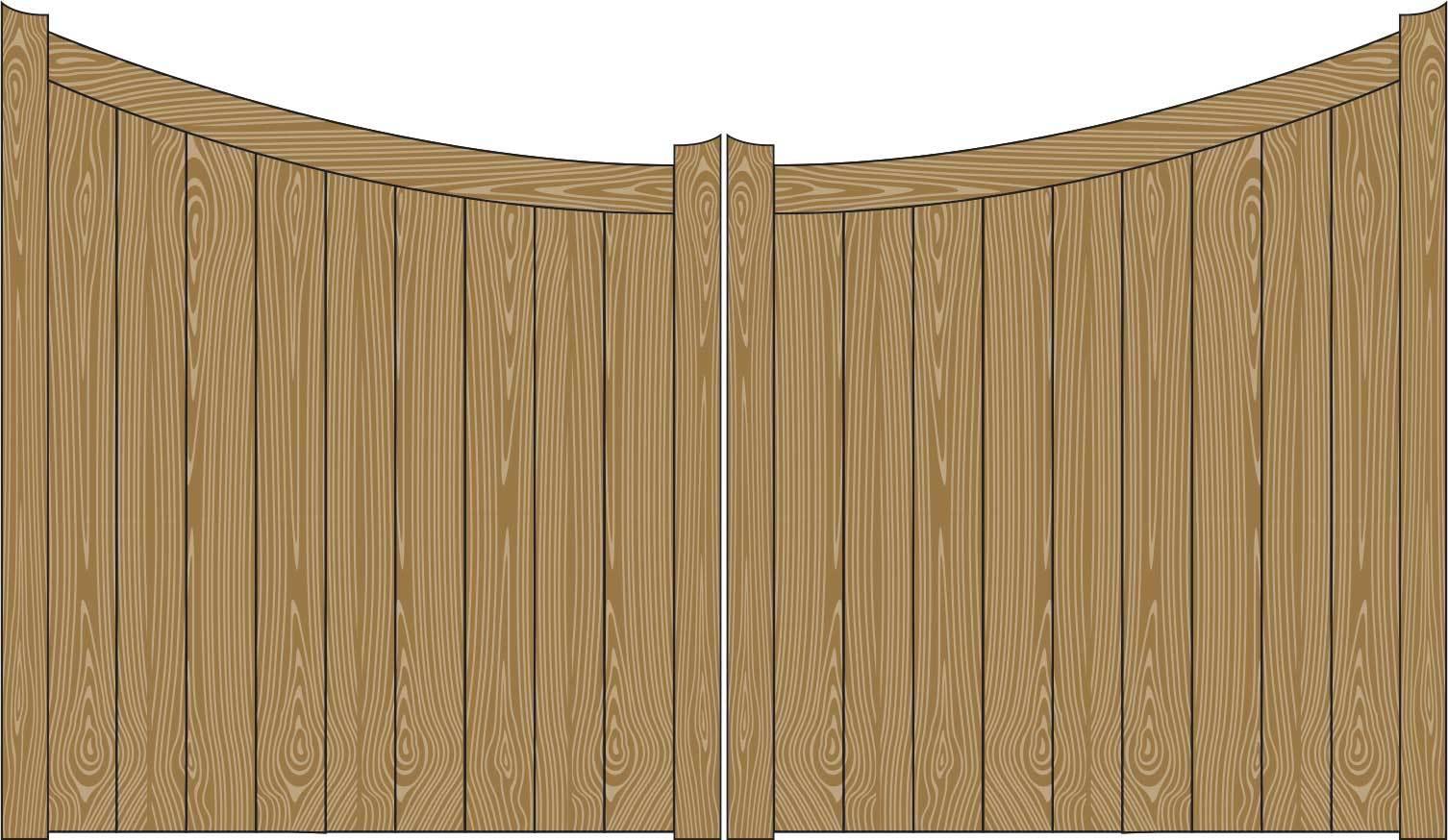 Oxley Gates Wooden Harrogate illustration