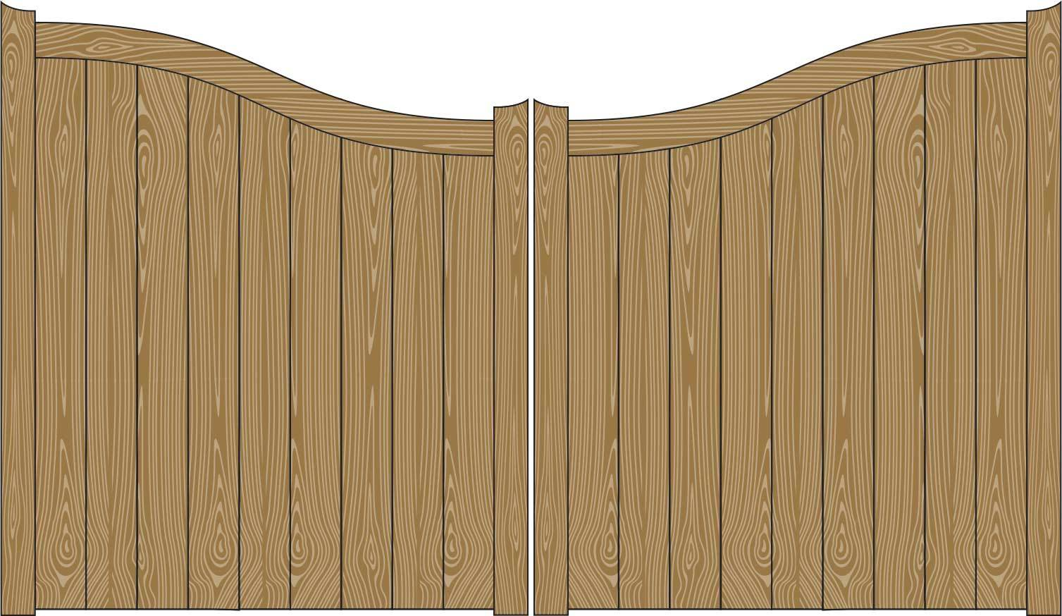 Oxley Gates Wooden Lincon illustration
