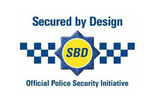 Oxley Secured By Design logo Georgian