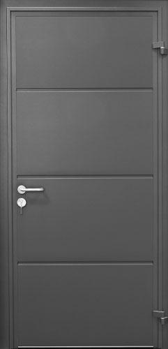 Solid Horizontal - Anthracite Grey