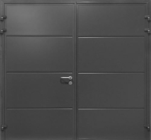 Solid Horizontal - Anthracite Grey