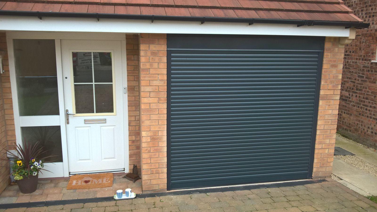 Insulated Roller Garage Door, Sheffield
