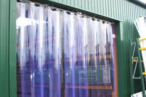 Oxley PVC Strip Curtain