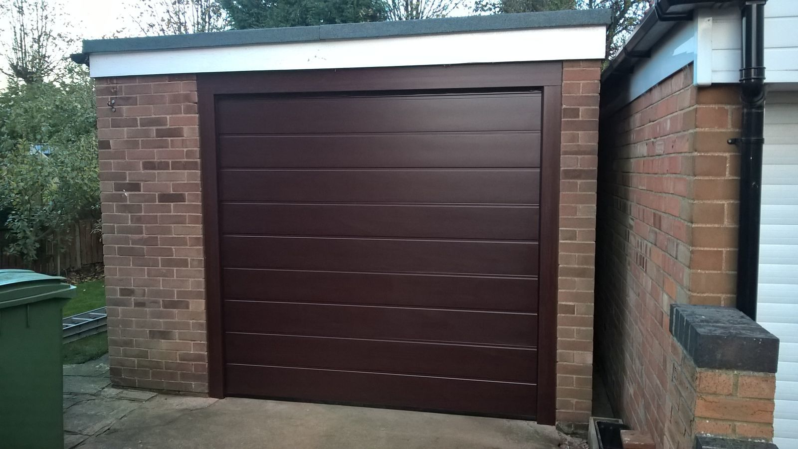 Insulated Sectional Garage Door, Scunthorpe