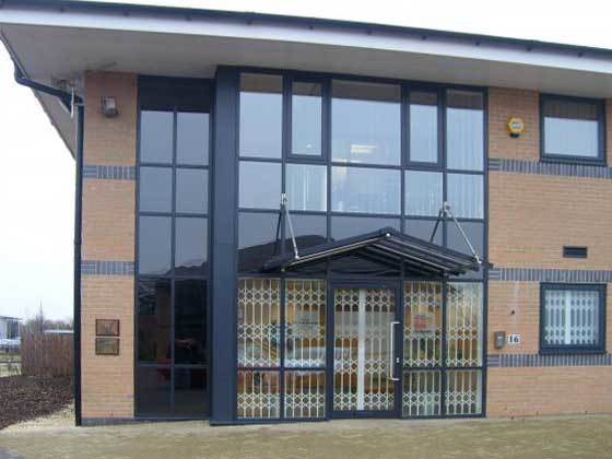 Oxley Security Grilles Exterior Offices