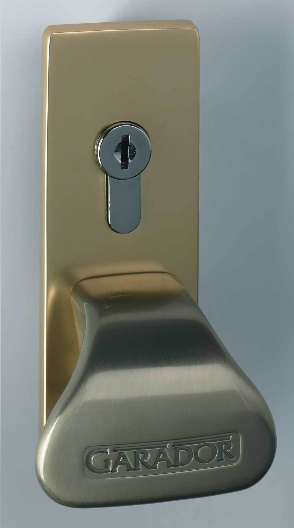 Brass Effect Handle and Fascia