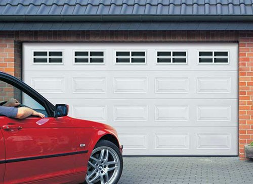 Insulated Georgian Sectional Garage Doors