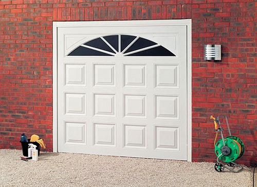 uPVC Up and Over Garage Doors