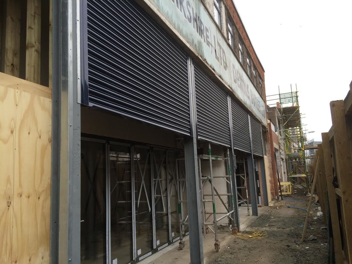 Shop Front Security Roller Shutters