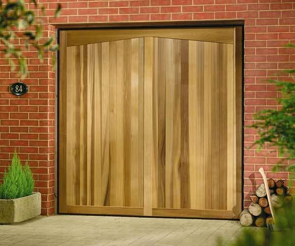 Oxley Timber Up Over Garage Door Barrington Light Oak