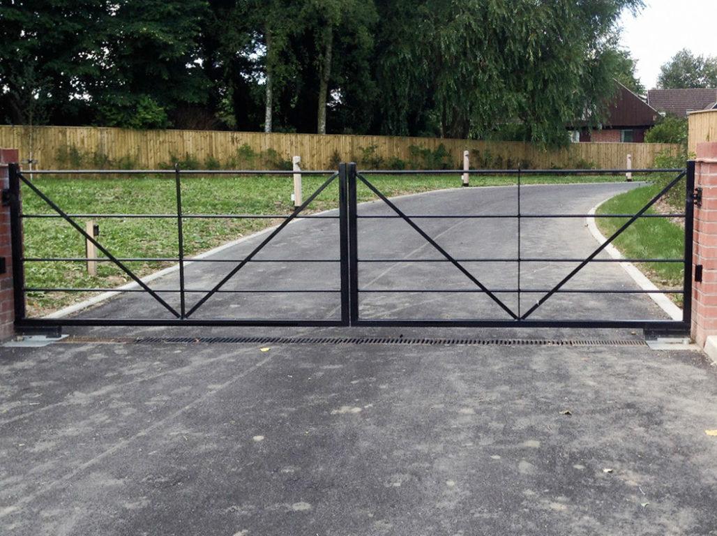 5 bar gate in a simple design