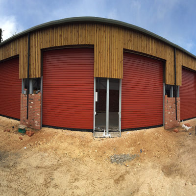 New Agricultural Unit Commercial Roller Shutters, Hull