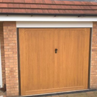 Insulated Roller Garage Door, Sheffield
