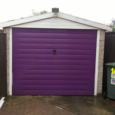 Insulated Compact Roller Garage Door