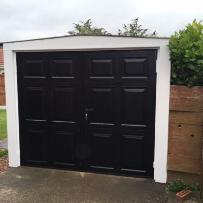 Side Hinged Garage Doors in Leeds