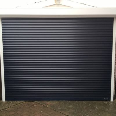 Insulated Compact Roller Garage Door, Leeds