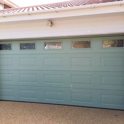 Insulated Georgian Sectional Garage Doors, Sheffield