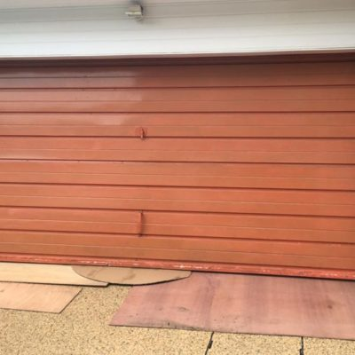 Insulated Georgian Sectional Garage Doors, Sheffield